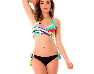 Bikini Cruzado Multicolor